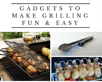 Gadgets To Make Grilling Fun & Easy Recipe