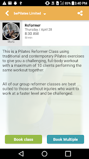bePilates Limited- screenshot thumbnail