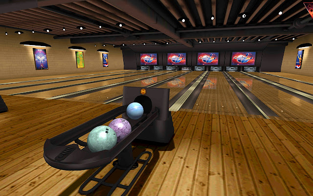 galaxy bowling 3d ボーリング