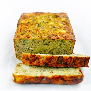 Zucchini, Fetta & Quinoa Frittata Loaf