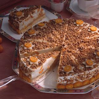 Kumquats-Joghurttorte mit Marzipan