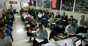 Las pruebas teóricas en el Colegio de Árbitros.