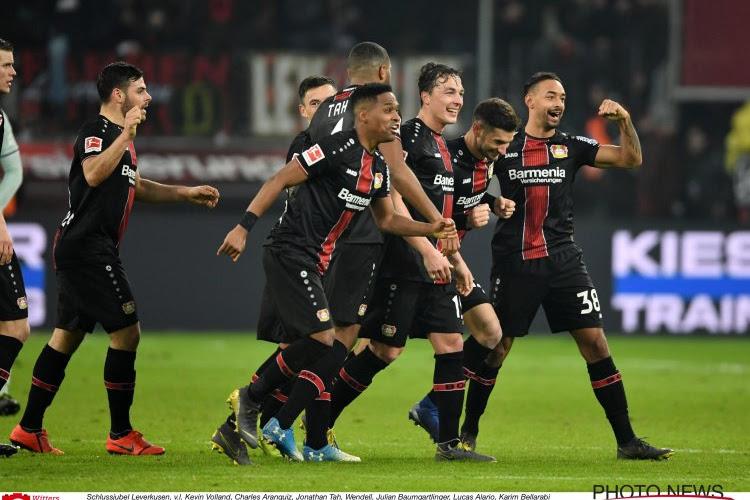 Le Bayer Leverkusen se hisse tranquillement en finale de Coupe d'Allemagne