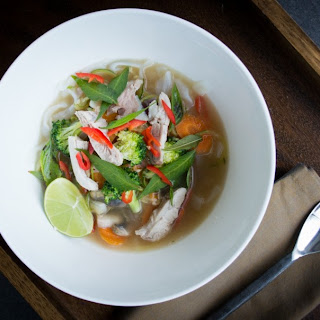 Asian Noodle Soup – (supercharged gluten and grain free version)