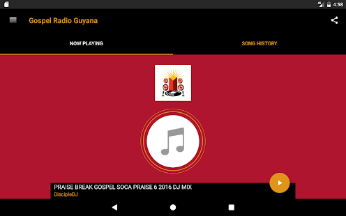 Gospel Radio Guyana- screenshot thumbnail