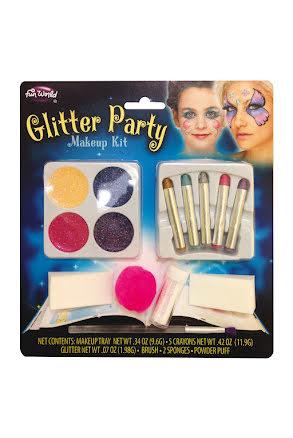 Sminkset, glitter