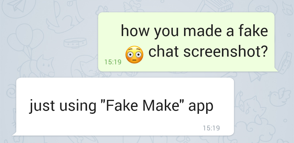 Apps fake chat Fake Chat