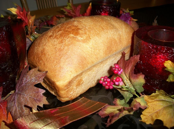 Bread Machine Autumn Wheat Bread Recipe