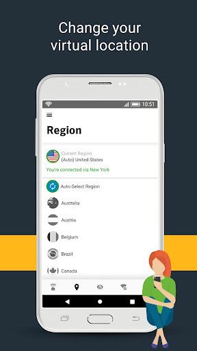 Norton Secure VPN – Security & Privacy VPN screenshot
