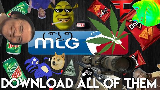 MLG Soundboard - náhled