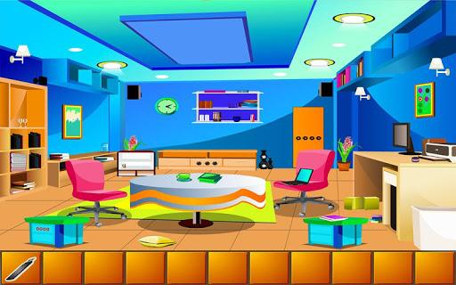 Escape Blue Living Room