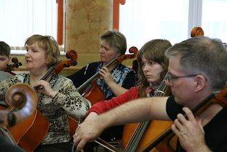 Photo: Особая гордость семинара в Заполярном - участие в нём большой группы виолончелистов.