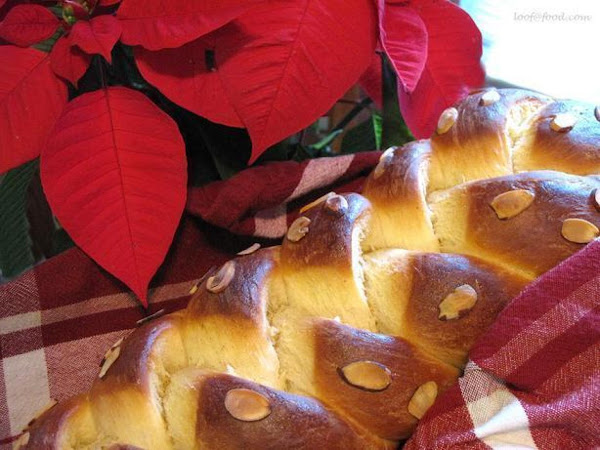 Golden Eggnog Holiday Braid Recipe