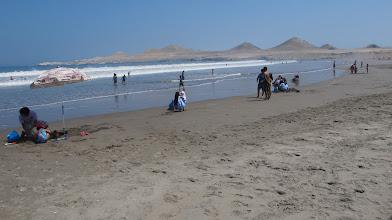 Photo: Playa Poza de Lisas y Punta Coles (Al fondo)