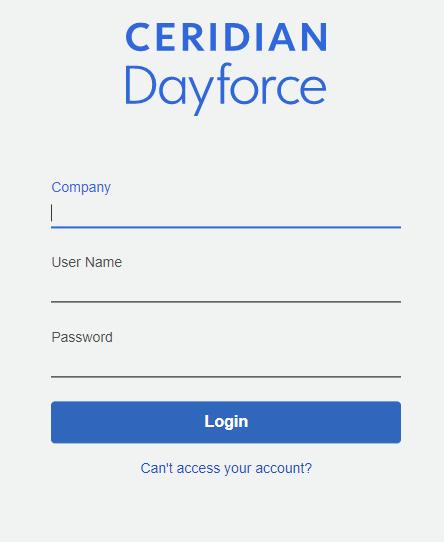 DayForce Login