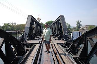 Photo: Harry on the Bridge