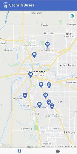 Wifi Bus Sacramento screenshot 1