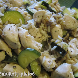 Garlic Zucchini Stir Fry