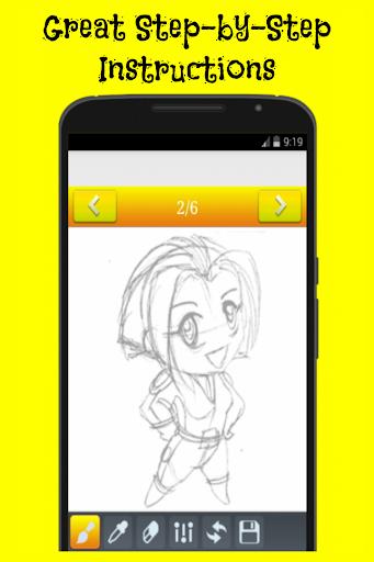 玩免費遊戲APP 下載How to Draw Chibi Anime app不用錢 硬是要APP