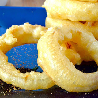 Crunchy Fried Onion Rings.