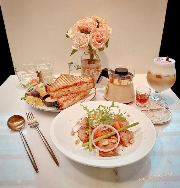 魯克思咖啡 Cafe de Lucas - IG 打卡超好拍網美早午餐店,姊妹們、朋友聚餐、下午茶、約會的好地方呦~