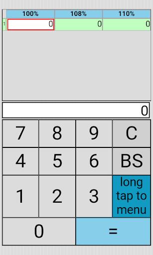 Percent Ratio Tax Multi Calc 1.2.5 Windows u7528 5