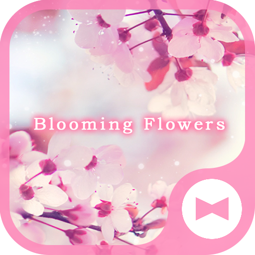 Beautisul Wallpaper Blooming Flowers Theme Icon