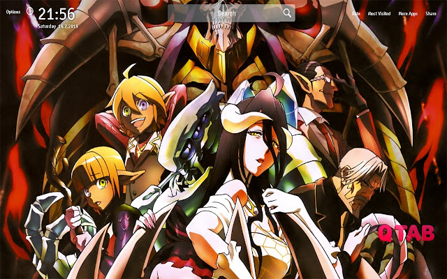 Overlord Wallpapers Overlord Anime New Tab