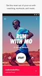 screenshot of Nike Run Club