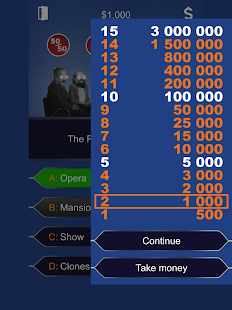 Millionaire 2017 - Lucky Quiz Free Game Online- screenshot thumbnail