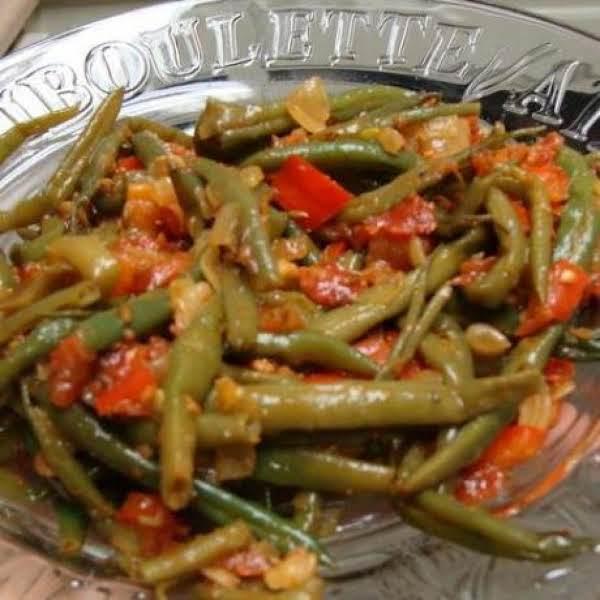 Italian Style Green Beans Recipe