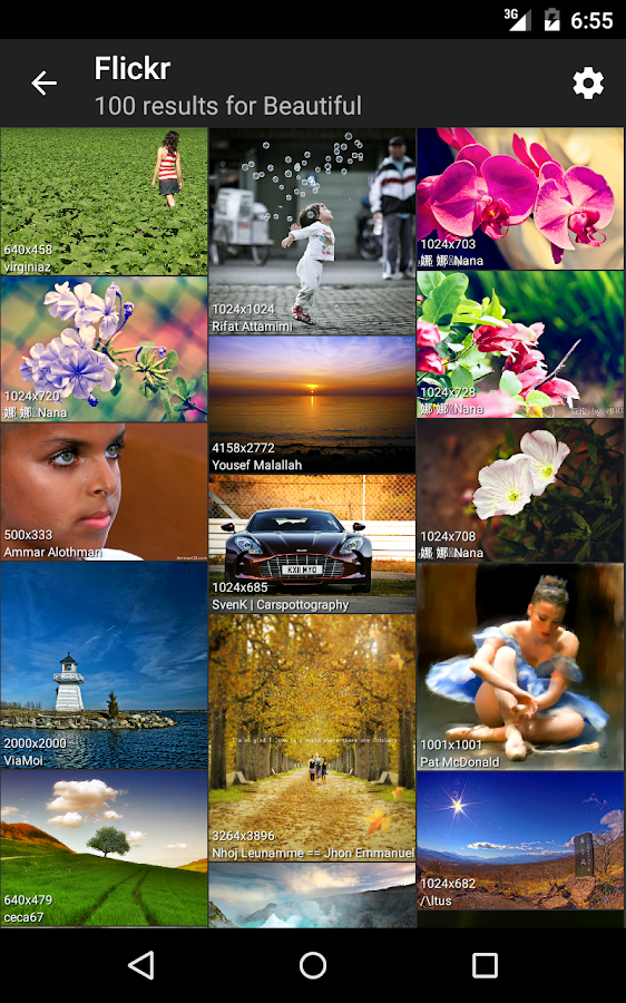 picTrove 2 - photo search- screenshot
