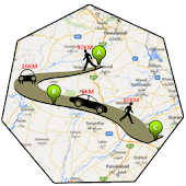 GPS Route Finder - Tracker