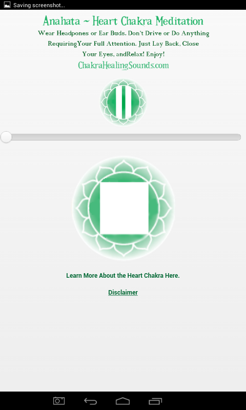Heart Chakra Meditation Sound- screenshot