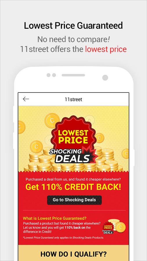 11street - Shopping & Deals | Coupon For New Users- screenshot