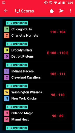 NBA Games Live on TV - Free 1.2 screenshots 6