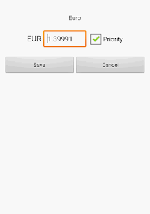 Exchange rate. All currencies (Currency converter)- screenshot thumbnail