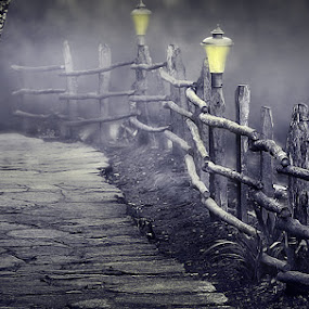 Towards Dawn by Subrata Kar - Digital Art Places