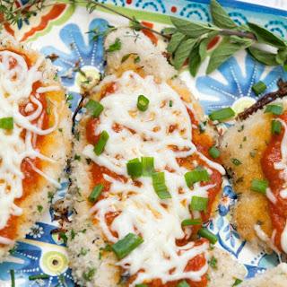 Healthy Herbed Turkey Parmesan