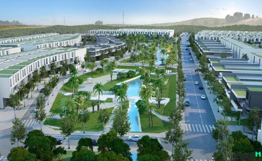 Đất nền nằm trong khu vực quy hoạch của các dự án lớn