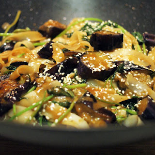 Rice Noodles Eggplant Recipes