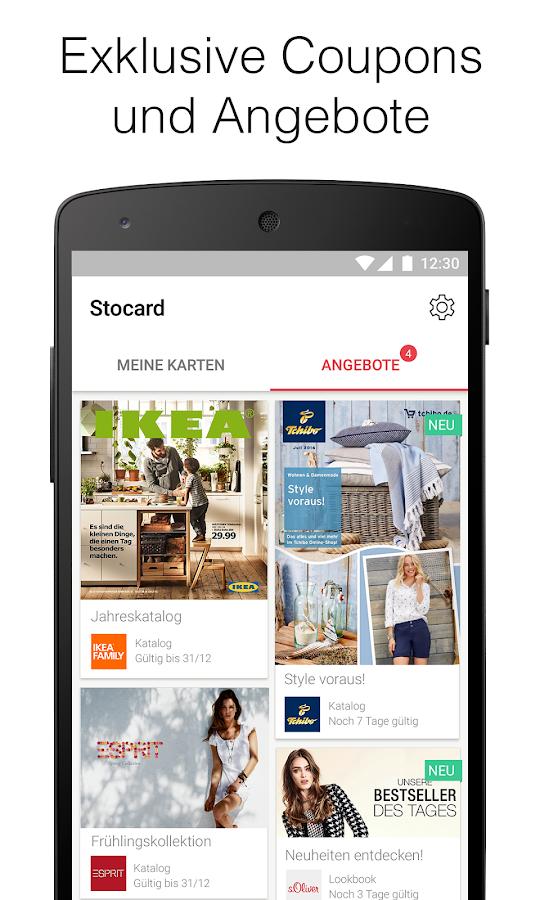 stocard kundenkarten wallet android apps auf google play. Black Bedroom Furniture Sets. Home Design Ideas