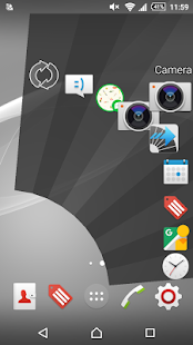 Smart Swipe (Sub) Launcher - Quick Arc Launcher Screenshot