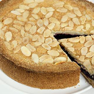 Blackberry and Almond Shortbread Cake