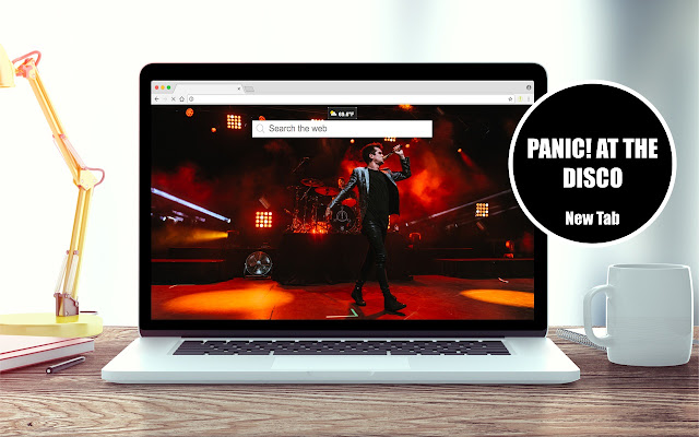 Panic! at the Disco New Tab Theme