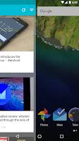 Screenshot of Blur - A Launcher Replacement