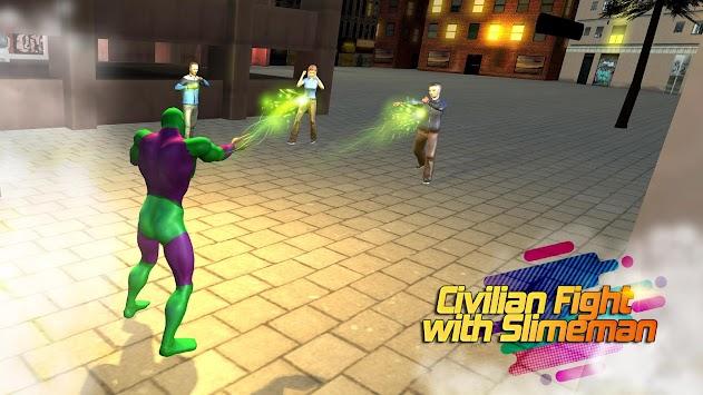 Super Slime Hero City Attack Gangster apk screenshot