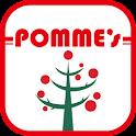 ポムフードグループの 公式スマホアプリ、 ポムズアプリ
