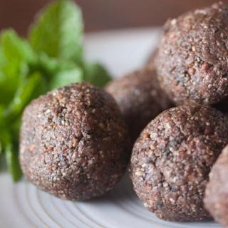 Mint Chocolate Snack Balls