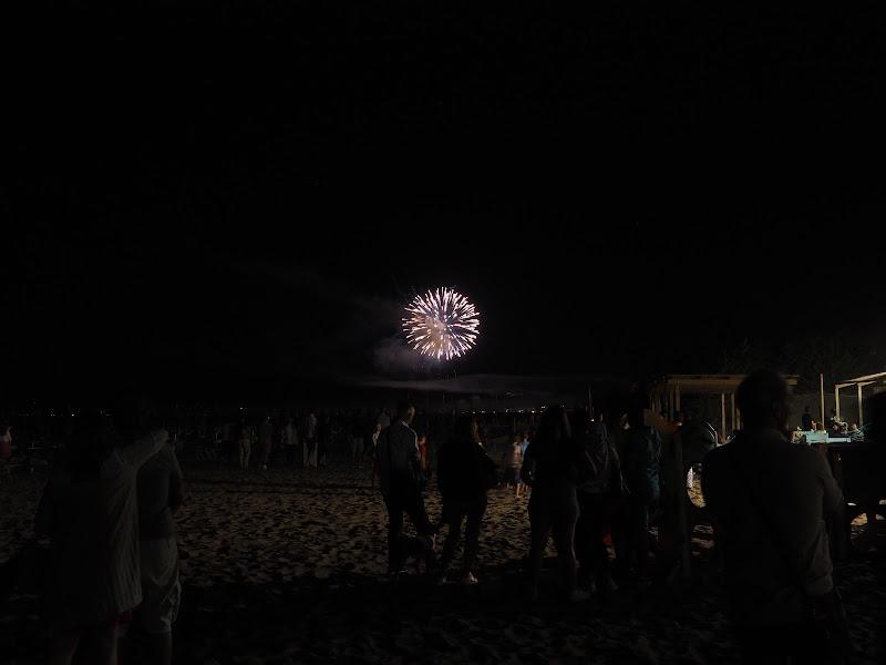 fuochi artificio fine vacanza di smpaint
